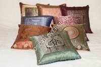 Zari Border Cushion Covers