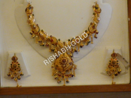 image bridal gold loading itm set heavy jewellery bollywood is plated s indian cz necklace pendant