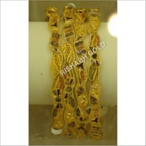 Ladies Gold Bangles