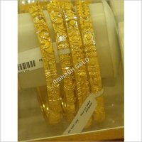 Plain Gold Bangles
