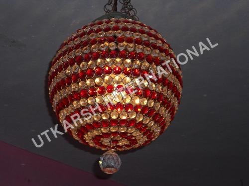 Modern Crystal Ball Chandelier