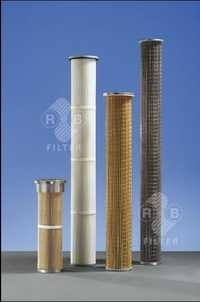 High Temperature Gas Filtration Cartidge