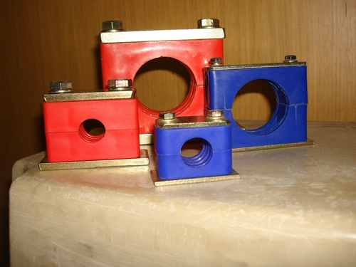 Single Pipe tube Cable Clamp
