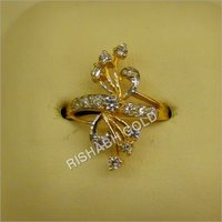 Gold Diamond Rings