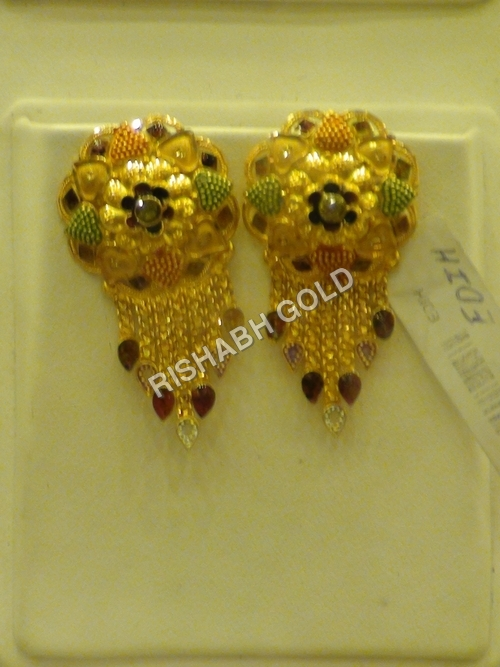 Gold Ear Tops