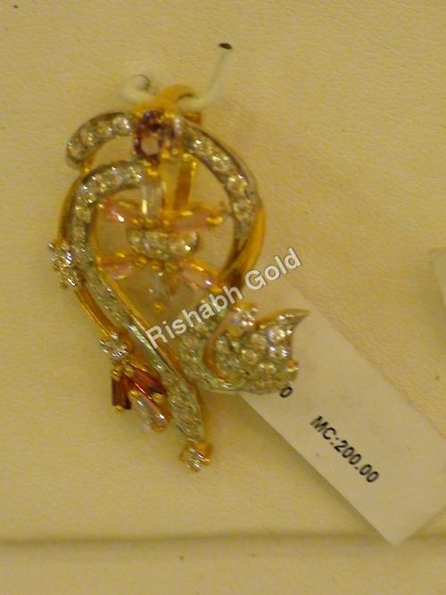 Fancy Gold Pendants