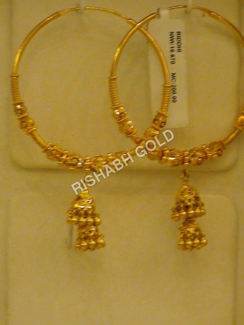 Gold Bali Earrings
