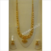 Gold Long Haar Set