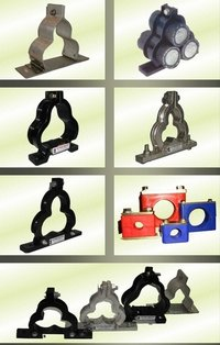 Die casted Alu Trefoil Clamp,