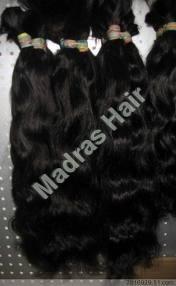 bulk hair wavy
