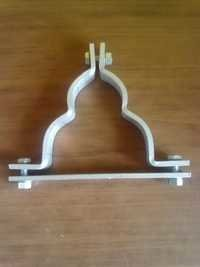 Aluminium Strip Trefoil Clamp Cleat