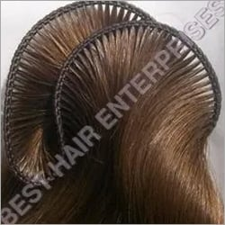 Hand-Tied Weft Straight Hair