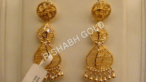 Pure Gold Earrings