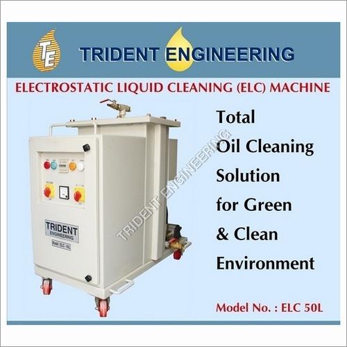 Electrostatic oil purifier (EOP) Machines