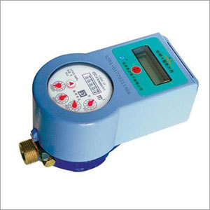 Touchless Type Prepaid Water Meter