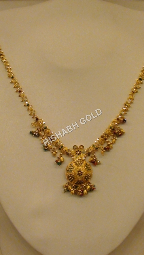 Ladies Designer Gold Necklace