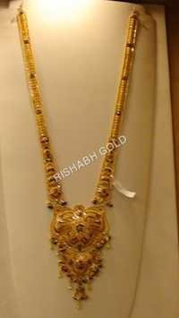 Ladies Rani Gold Necklace