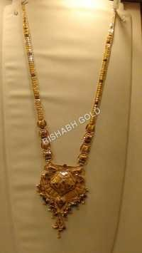 Pure Long Gold Necklace
