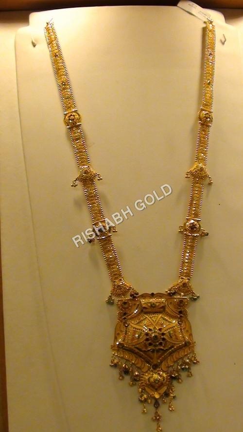 Ladies Designer Gold Necklace