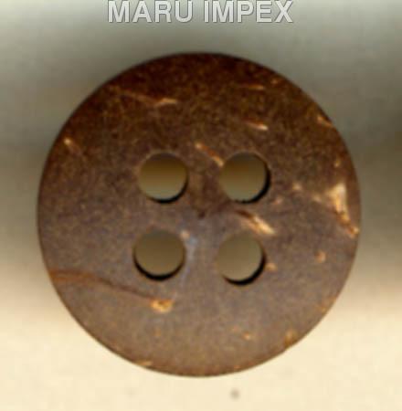 Coconut Shell Button