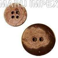 Coconut Shell Button