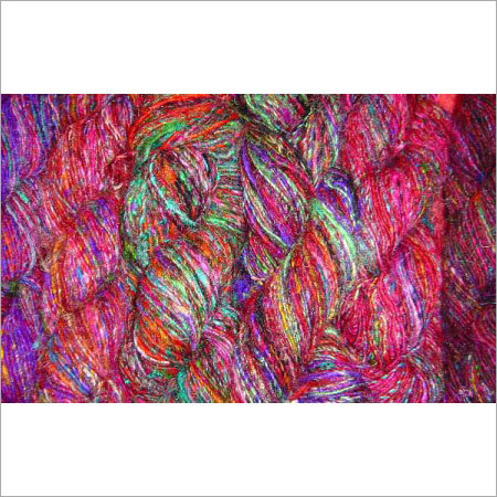 Regular Recycled Sari Silk Yarn Multi