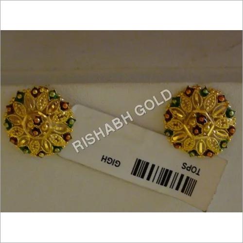 Meenakari Gold Tops