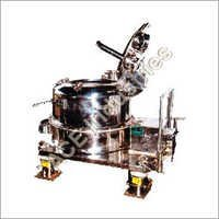 Manual Top Discharge Centrifuge Machine