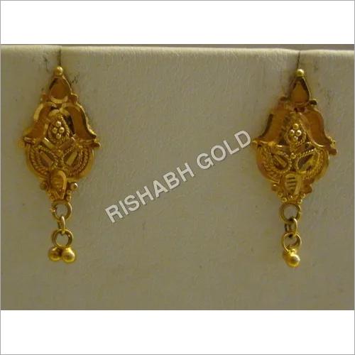 Stylish Gold Earings