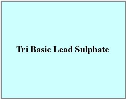 Tri Basic Lead Sulphate