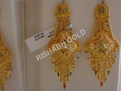 Gold chandelier earrings manufacturer gold chandelier earrings previous gold chandelier earrings mozeypictures Image collections
