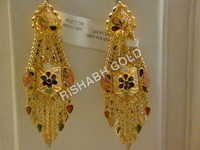 Chandelier Jhumka Earrings