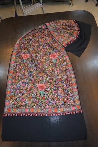 Allover Jamma Embroidered Stoles