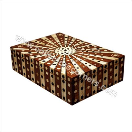 Brown Camel Bone Painted Box