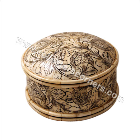 Painted Powder Box