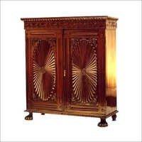 Rosewood Sunburst Cabinet