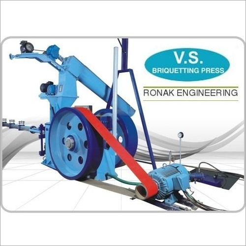 Straw Briquetting Machine