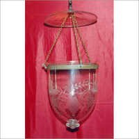 Glass Bell Jar Lantern