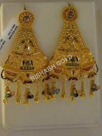 Bridal Gold Jhumka