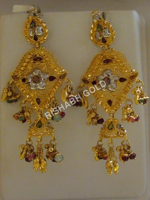Jhumka Chandelier Earrings