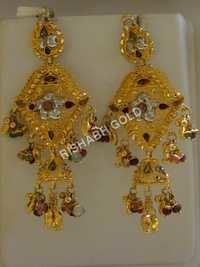 Jhumka Chandelier Earrings