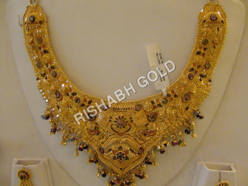 Bridal Gold Necklace Set