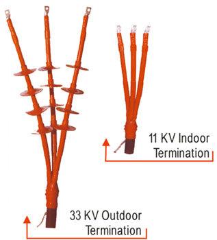 33KV Heat Shrinkable Indoor Terminations Kits
