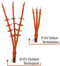 33KV Heat Shrinkable Indoor Terminations Kits