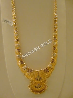 Ladies Long Gold Necklace