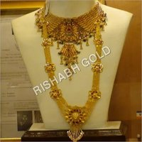 Traditional Rani Gold Necklace