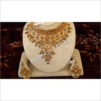 Elegant Gold Necklace Set