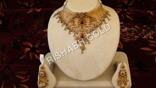 MeenaKari Bridal Necklace Set