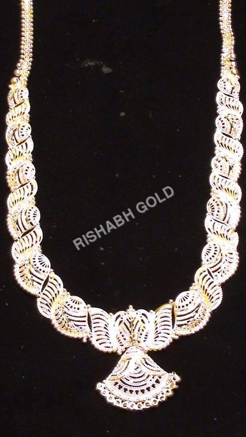 Wedding Pure Gold Necklace