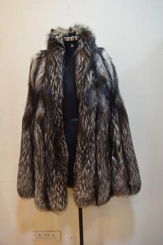 Silver Fox Coat